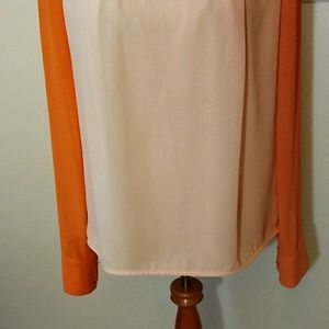 Ted Baker Tops - Ted Baker sheer blouse size ( 3 )  size 8 US